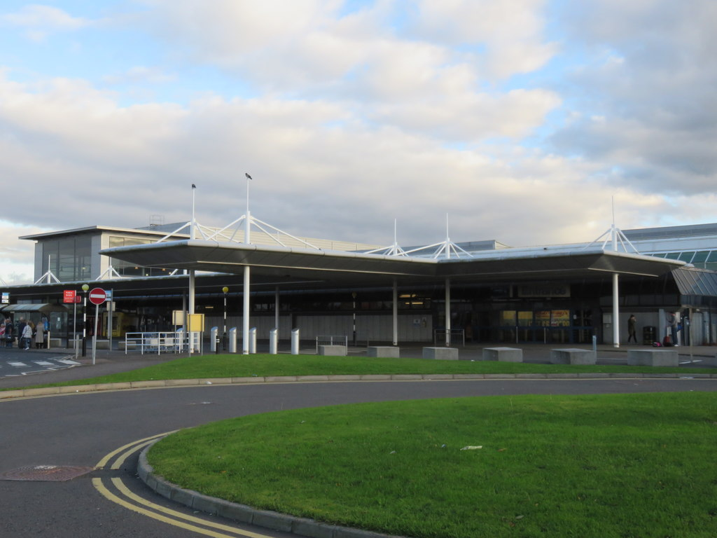 Belfast International Airport serves Belfast in Northern Ireland.