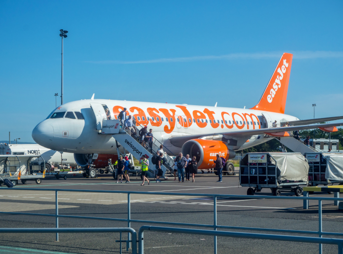 Belfast International Airport is a focus city for easyJet.